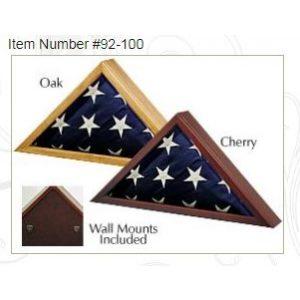 Birchwood Memorial Flag Case