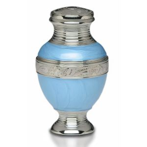 Nickel Plated Brass Urn
